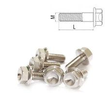 TITANIO Bullone m12 x 1.5 40 - 70 esagonale con federale DIN 6921 grado 5
