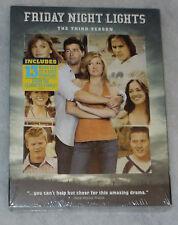 Friday Night Lights Season 3 Three DVD Box Set NEW SEALED