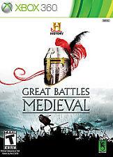 History Great Battles: Medieval, Microsoft Xbox 360, 2011