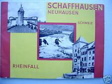 Schaffhausen Neuhausen Schweiz Rheinfall