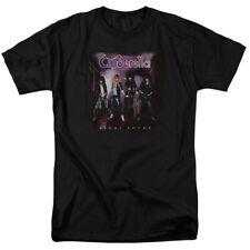 Cinderella Night Songs T Shirt Licensed Rock n Roll Band Merch Music Black