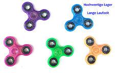 Figet Finger Hand Spinner Anti Stress Toy ADHS Glitzer versch Farben Focus