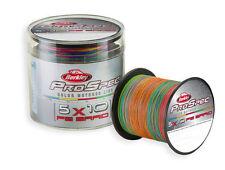 BERKLEY PRO SPEC 5x10 MULTICOLOR PE BRAID - 450m Spool / 0.30-0.38mm / 65-100Lbs