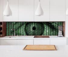 Aufkleber Küchenrückwand 3D Effekt Binär Code Auge abstrakt Kunst Folie 22A166