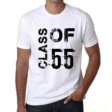 Class of 55 Homme T-shirt Blanc Cadeau D'anniversaire
