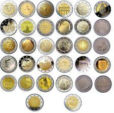 2 Euro Gedenkmünzen 2016 – UNC, PP, coin card, Numisbrief