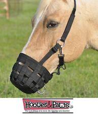 CASHEL GRAZING MUZZLE HALTER HORSE Adjustable Control Feeding Arab Mini Pony