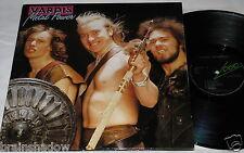 Vardis METAL POWER 2 LP LOGO Rec. UK 1981 RARE METAL HARD ROCK!!!