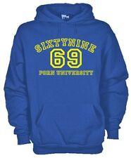 Felpa con cappuccio fun hoodie KG27 SixtyNine Porn University