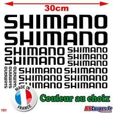 16 Stickers Shimano - Autocollants Adhésifs Cadre Velo Bike VTT Montain - 191