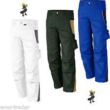 Arbeitshose Arbeitskleidung Berufskleidung 2-farbig Qualitex Malerhose Übergröße