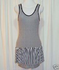 "SASS&BIDE BLACK&WHITE MINI DRESS 10,12,14 ""JERSEY WEB - IN BETWEEN DAYS"""