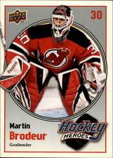 2009-10 (DEVILS) Upper Deck Hockey Heroes #HH11 Martin Brodeur