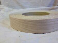 Red Oak Iron on Edging Pre Glued Real Wood Veneer Tape 22mm 50mm