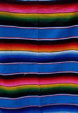 Serape Blanket Mexican Saltillo Serapes Blanket Bed Car Cover 5 x 7 feet