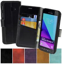 Samsung Galaxy Xcover 4 | 4s Hülle Tasche Book Style Schutz Cover Wallet Case