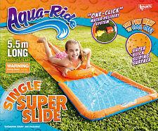 *NEW* Aqua Ride SINGLE LANE Super Slick Sliding Surface Water Slide 5.5m Long