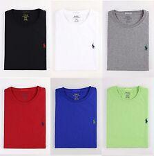 NWT Polo Ralph Lauren Men Crew Neck Modern Classic-Fit T-Shirt Tee MSRP $45.00
