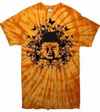Buddha Tie Dye T-Shirt-Meditazione Buddista Buddismo Festival-colore a scelta