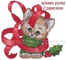 Gatito knits Colección-diseños de bordado de la máquina en CD