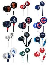 MLB Team Logo Earphones by iHip -Select- Team From Drop Down Below