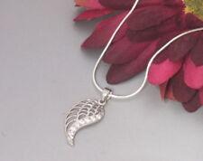 Echt 925 Silber Schlagenkette Flügel Engelsflügel Kette Halskette Zirkonia Damen