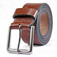 Leather Mens Belt Belts Real New Genuine Buckle Trouser  jeans Black Brown KERTZ