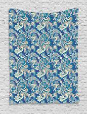 Paisley Tapestry Asian Inspired Persian Print Wall Hanging Decor