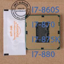 Intel Core i7 I7-860S I7-870 I7-875K I7-880 Socket 1156 Processor