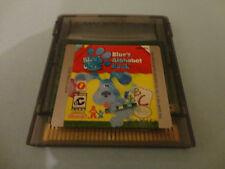 Blue's Clues: Blue's Alphabet Book  (Nintendo Game Boy Color, 2000) GBC