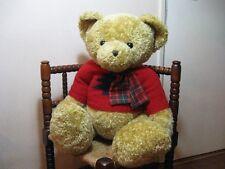 Jumbo 27.5 Inch UK CHRISTMAS TEDDY BEAR Knitted Sweater Xmas Tree