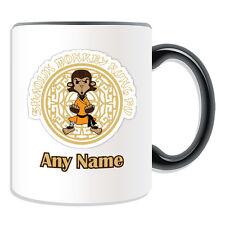 Personalised Gift Shaolin Monkey Mug Money Box Cup Shao Lin Si Kung Fu Monk Name