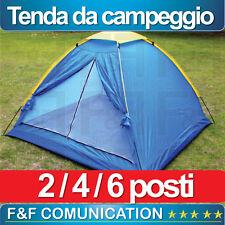 TENDA TENDE DA CAMPEGGIO CAMPING 2 4 6 POSTI IGLOO MARE SPIAGGIA