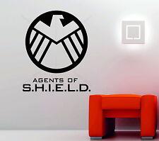Marvel agents de s.h.i.e.l.d.shield Symbole Autocollant Mural Vinyle Décoratif Autocollant