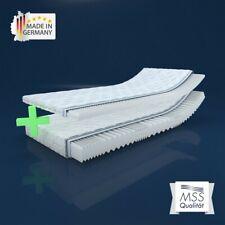 MSS® Aqua VitalFoam® Wellness Kaltschaum 7 Zonen Matratze + Noppen Topper Set