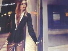 PUBLICITE  2012  SISLEY  haute couture hiver 2012/2013  ( 2  pages)