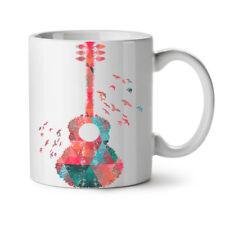 Guitar Geometrical Music NEW White Tea Coffee Mug 11 oz   Wellcoda