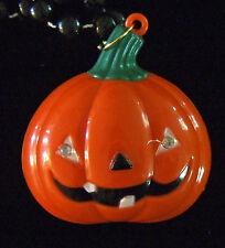 Halloween Flashing Pumpkin Lights Noise Mardi Gras New Orleans Party Beads