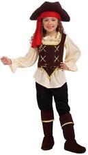 Buccaneer Girl Caribbean Pirate Wench Fancy Dress Up Halloween Child Costume