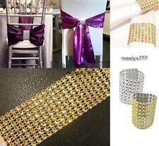 Rond de serviette + chemin de table strass Décoration de table noel mariage