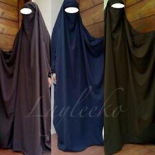 Full Length Long Butterfly French Jilbab Hijab Abaya Muslim Islam Burka Khimar