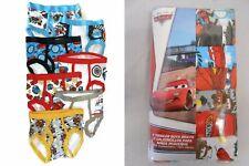 DISNEY CARS 7-pack Toddler Boys Briefs Sizes 2T/3T, 4T NEW UNDERWEAR