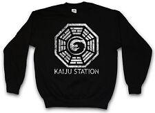 Kaiju estación logotipo sudadera Pacific del toro Mech monstruo rim Sweat Jersey