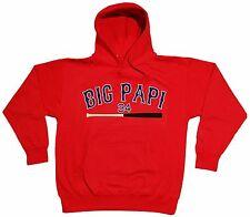 "RED David Ortiz Boston Red Sox ""Big Papi"" jersey Hooded SWEATSHIRT HOODIE"