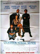 UN POISSON NOMME WANDA Affiche Cinéma / Movie Poster
