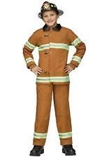 Classic Deluxe Fireman Boys Child Costume