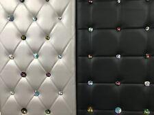 10er Pack 20, 25, 30 mm Strass Polsternägel Schrauben Glas Regenbogen Crystal AB