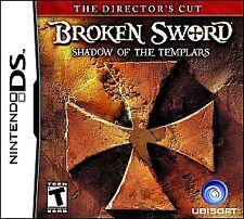 Broken Sword The Shadow of the Templars Director's Cut Nintendo DS Complete Game