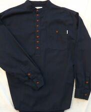 L/'originale metà//pulsante Classica Camicia Serafino da Kaboo Trading Co 100/% cotone.