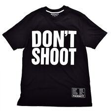 Hamnett Dont Shoot T-Shirt in Black Katherine Hamnett SAVE THE WORLD